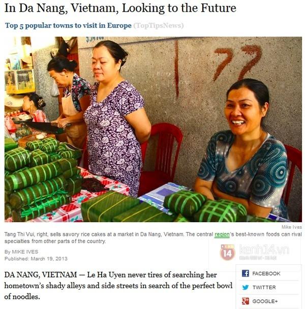 Gặp cô gái Việt lên báo NewYork Times nhờ quảng bá ẩm thực Đà Nẵng  - ảnh 10
