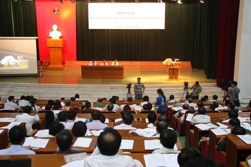 Hội nghị trực tuyến Hiệu trưởng các trường đại học