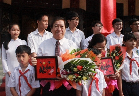 Đồng Nai tổ chức lễ tết thầy - ảnh 1