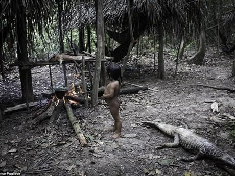 Bộ tộc kỳ lạ: Nhận động vật hoang dã làm con - ảnh 6