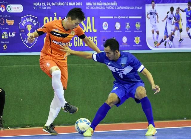 Giải Cúp Quốc gia Futsal: Thái Sơn Nam quá mạnh, Thái Sơn Bắc thua trận - ảnh 1