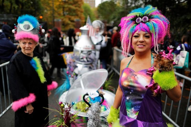 Sắc màu ma quái của lễ Halloween trên khắp thế giới - ảnh 9