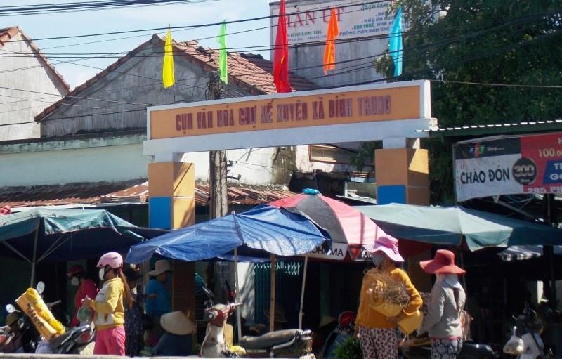 Vận động tiểu thương chợ Kế Xuyên chuyển sang chợ mới - ảnh 1