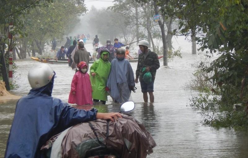 Thừa Thiên-Huế: Có 3 người chết trong lũ - ảnh 1