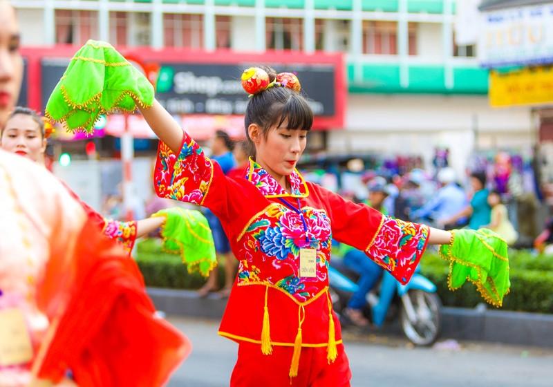 Những 'tiên nữ' xuất hiện trong lễ hội Tết nguyên tiêu  - ảnh 5