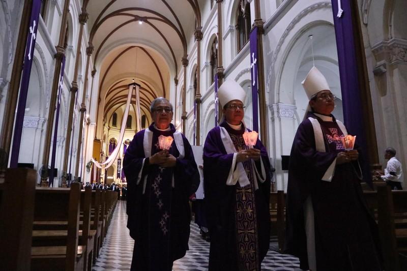 Trực tiếp lễ rước Đức Tổng Giám mục Phaolô Bùi Văn Đọc - ảnh 1