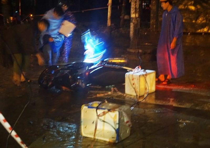 Chưa tìm ra người giăng sợi dây điện gây chết người ở Đà Nẵng - ảnh 1