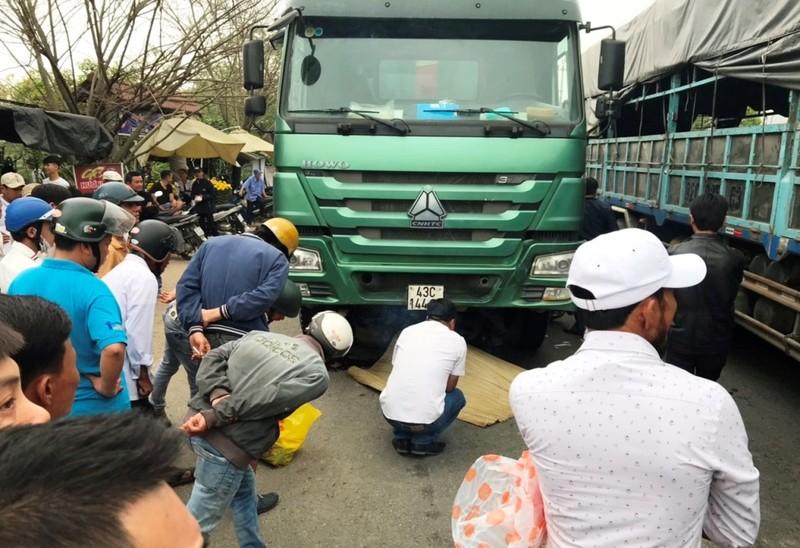 Cán bộ trại giam bị xe ben tông tử vong ở Đà Nẵng - ảnh 1