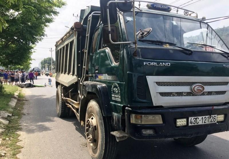 Nữ sinh viên bị xe ben cán tử vong ở Đà Nẵng - ảnh 1