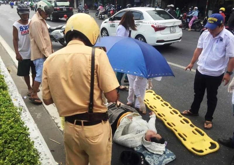 CSGT thông tin clip 'Ô tô không liên quan tai nạn bị tạm giữ' - ảnh 2