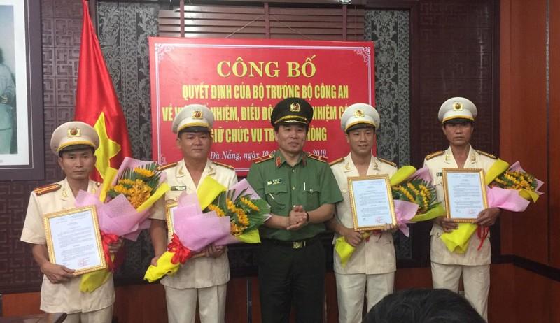 Công an Đà Nẵng điều chuyển nhiều lãnh đạo cấp quận, phòng - ảnh 1