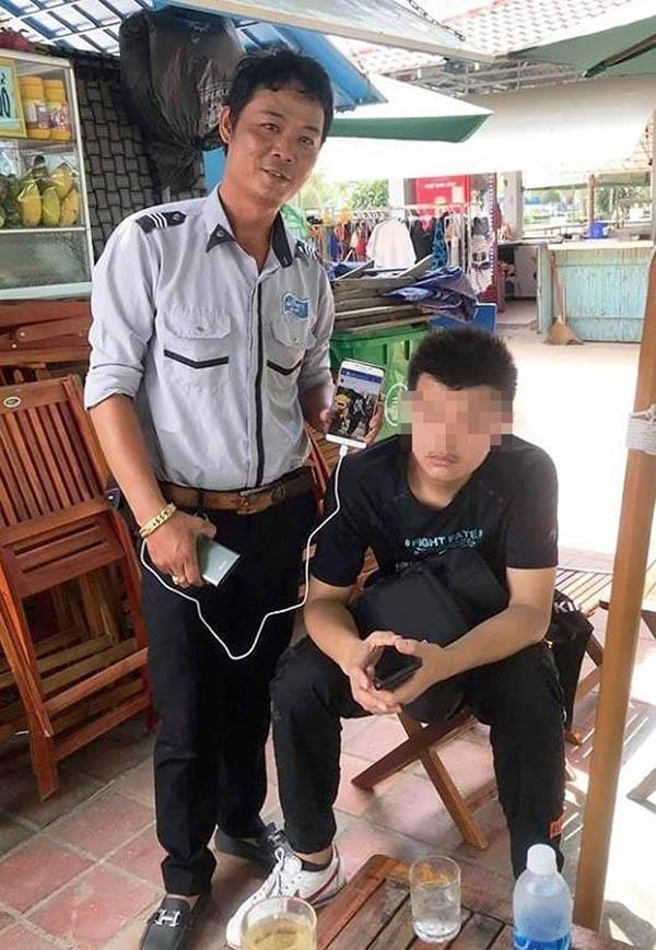 1 nam thanh niên Trung Quốc đến Đà Nẵng ăn xin - ảnh 1