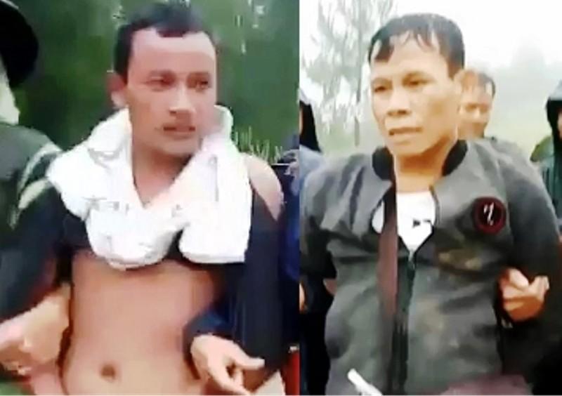 Biên phòng Kon Tum bắt 2 người Lào cùng ma túy đá - ảnh 1