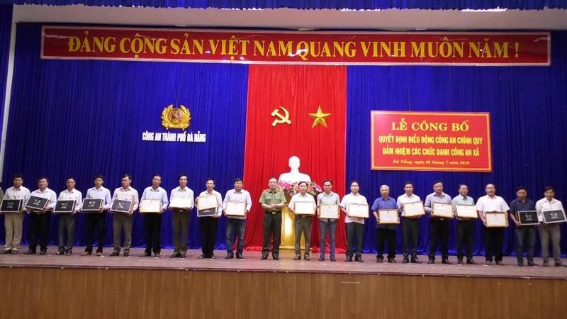 Đà Nẵng: Công an chính quy đảm nhận các chức danh ở xã - ảnh 2