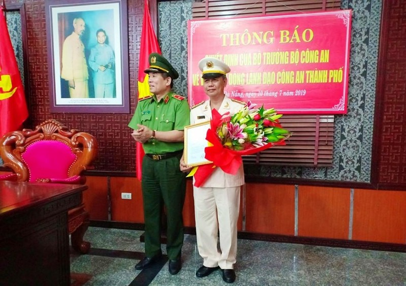Phó giám đốc Công an Đà Nẵng được điều động về Bộ công an - ảnh 1