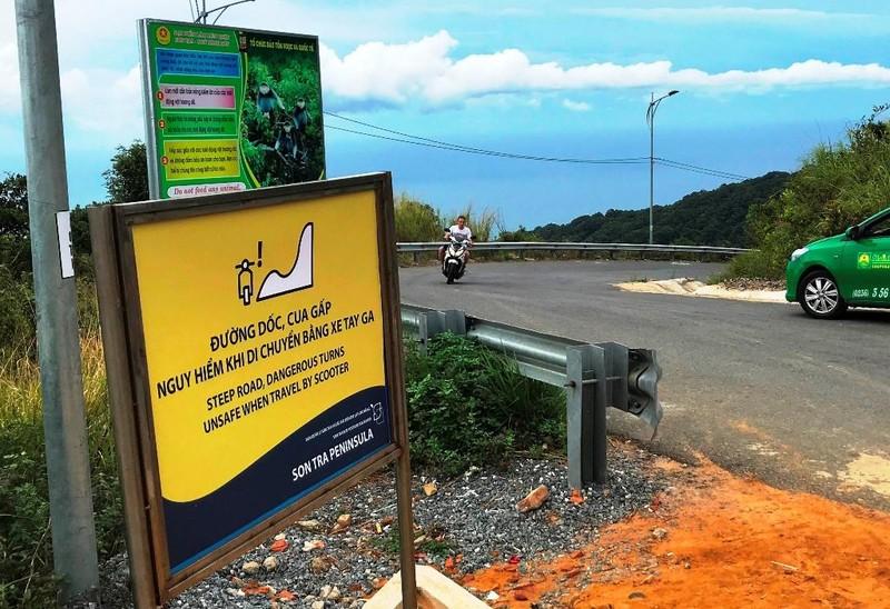 Cận cảnh những đoạn nguy hiểm của đường lên Sơn Trà - ảnh 10