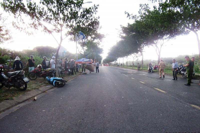 Đà Nẵng: Người đàn ông tử vong khi tự tông trụ điện - ảnh 1