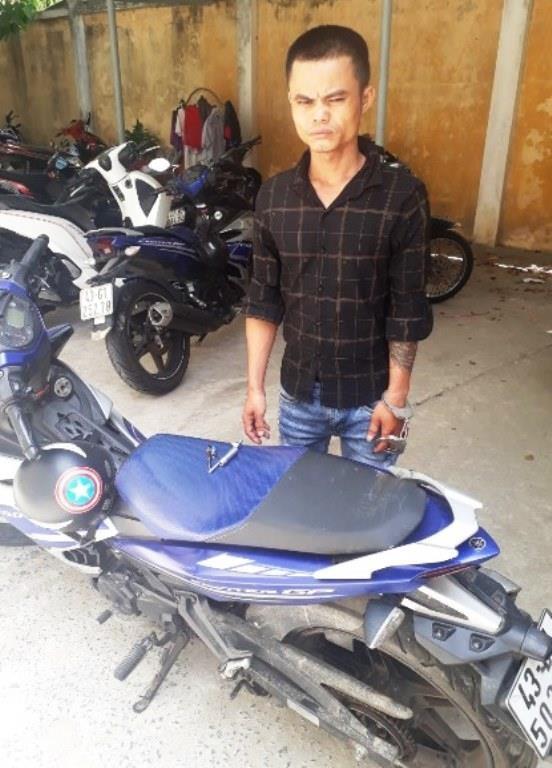 Trộm xe Exciter từ Đà Nẵng mang vào Bình Dương bán - ảnh 1