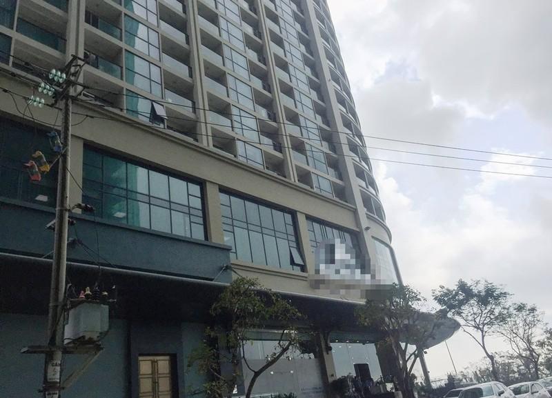 Một người Hàn Quốc rơi từ tầng cao khách sạn ở Đà Nẵng - ảnh 1