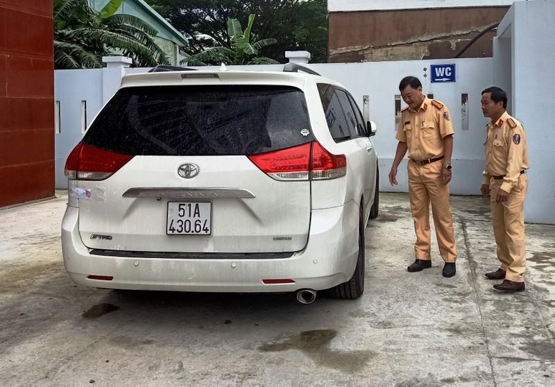 Ô tô mang biển số giả nhiều lần vi phạm giao thông ở Đà Nẵng  - ảnh 1