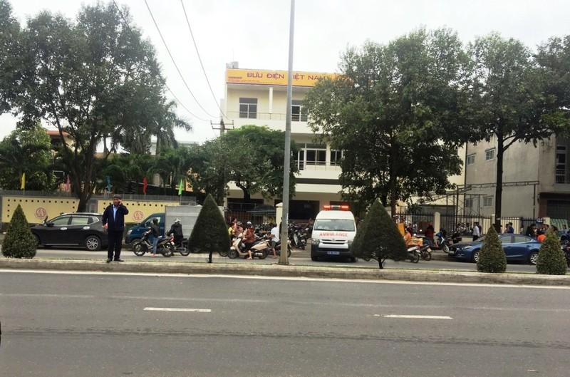 Nam công nhân bị điện giật tại công trình bưu điện ở Đà Nẵng - ảnh 1