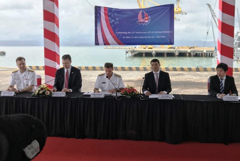 Tàu sân bay Hoa Kỳ thăm Đà Nẵng  - ảnh 1