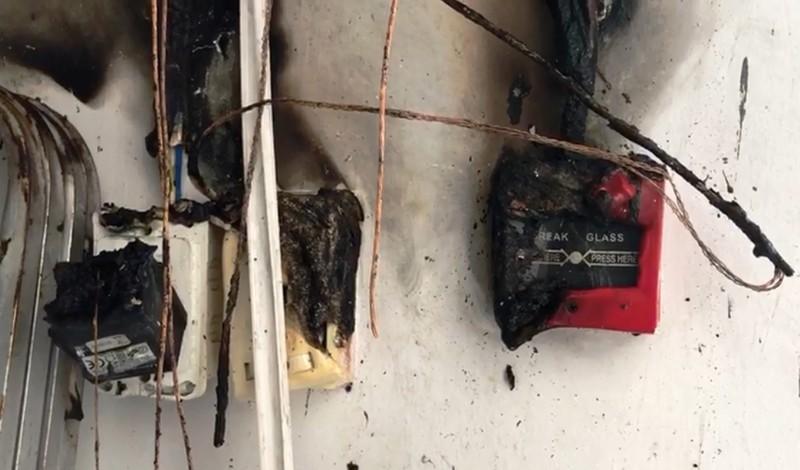 Cháy phòng hóa chất công ty may, hàng trăm công nhân tháo chạy - ảnh 2