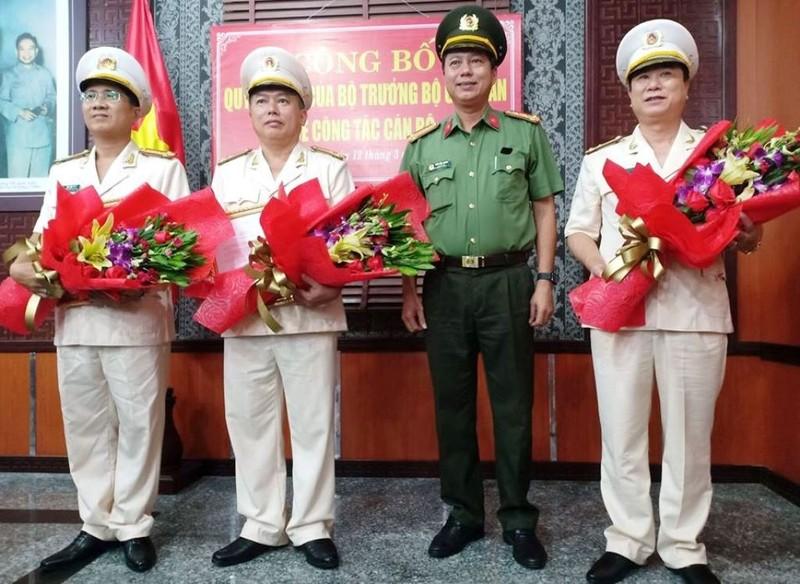 Công an TP Đà Nẵng điều chuyển 3 thượng tá - ảnh 1