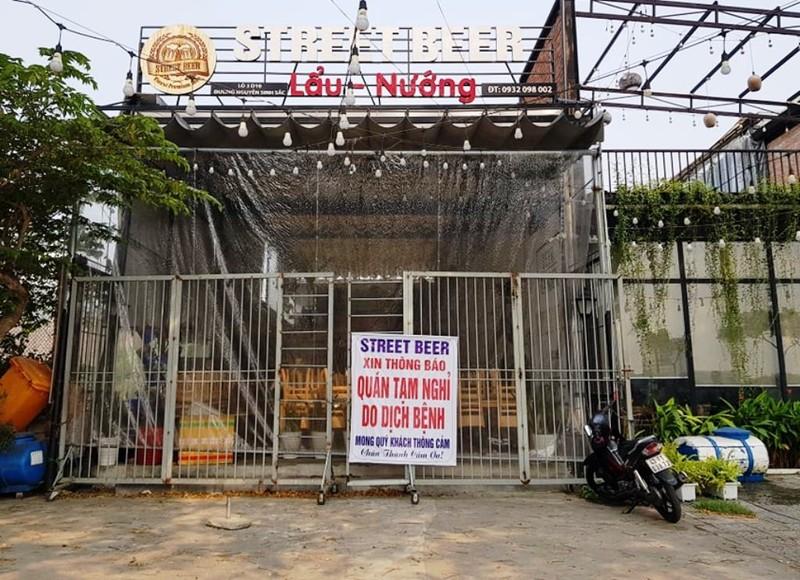 Đà Nẵng: Ra quân nhắc hàng quán đóng cửa chống dịch COVID-19 - ảnh 2