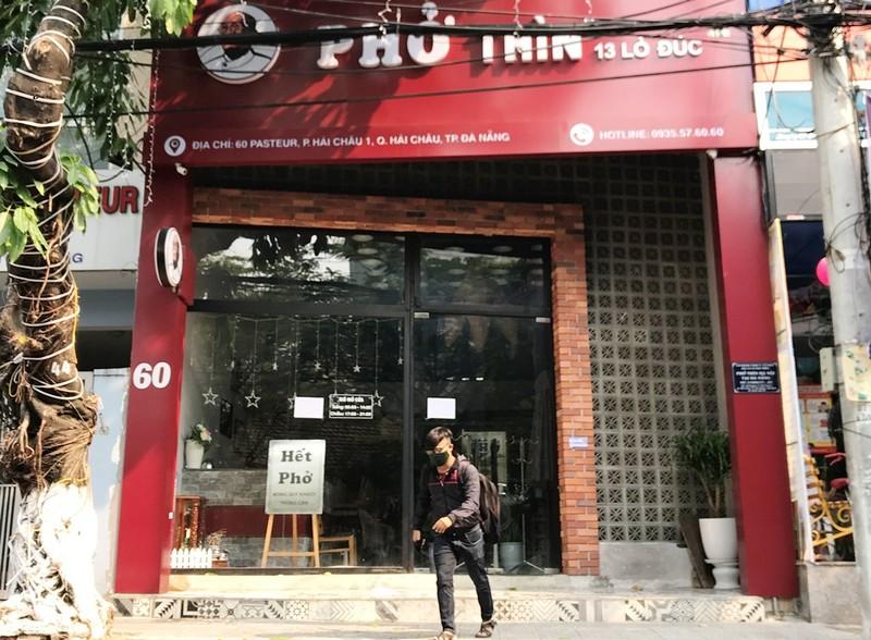 Đà Nẵng: Ra quân nhắc hàng quán đóng cửa chống dịch COVID-19 - ảnh 3