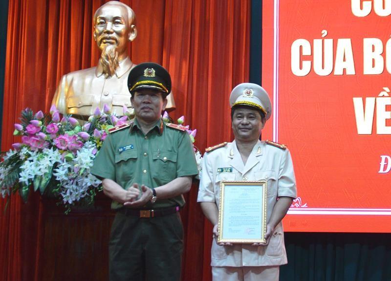 Công an Đà Nẵng có tân phó giám đốc - ảnh 1