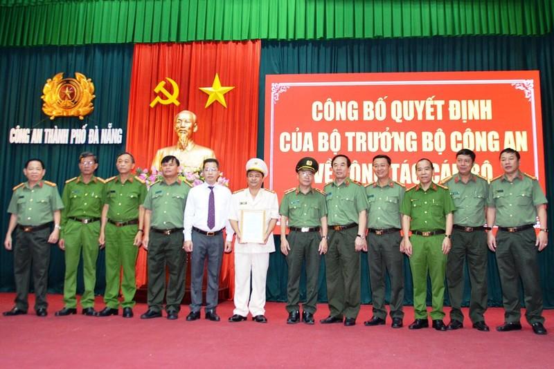 Công an Đà Nẵng có tân phó giám đốc - ảnh 2