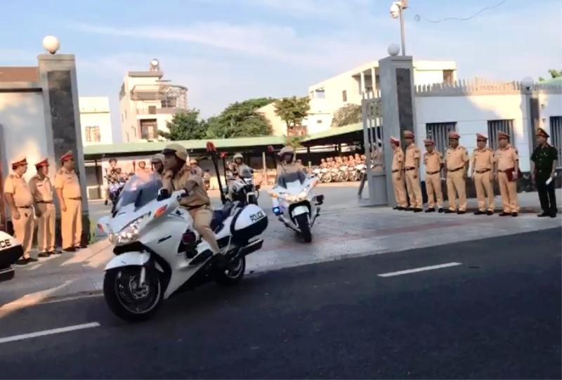 Đà Nẵng: CSGT đồng loạt ra quân  - ảnh 1