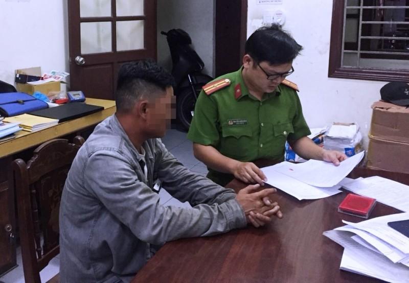 Một thợ sửa xe ở Đà Nẵng bị phạt 3,5 triệu đồng - ảnh 1