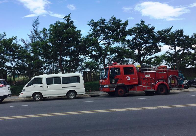 Điều tra nguyên nhân thi thể cháy đen tại bờ biển Đà Nẵng - ảnh 1