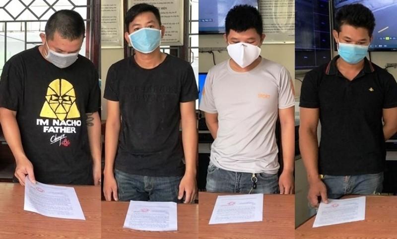 Đà Nẵng: 5 người tụ tập ăn nhậu bị phạt 42,5 triệu đồng - ảnh 1