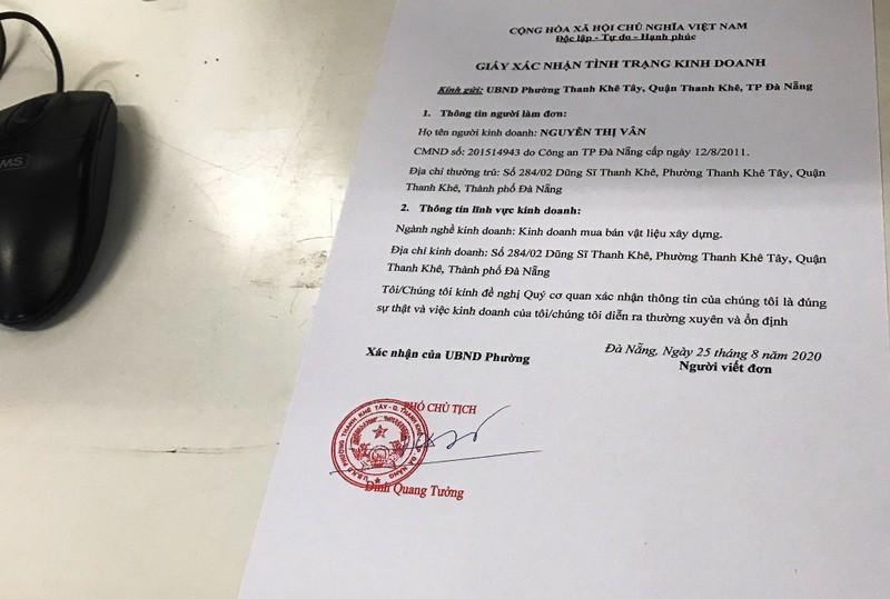 Người đàn ông làm giả 121 con dấu các cơ quan ở Đà Nẵng - ảnh 3