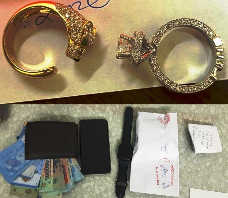 Lẻn vào nhà trộm nhẫn kim cương giá 300 triệu đồng - ảnh 2