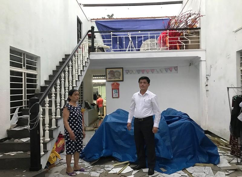 Đà Nẵng: Gió lớn khiến 2 căn nhà tốc mái - ảnh 8