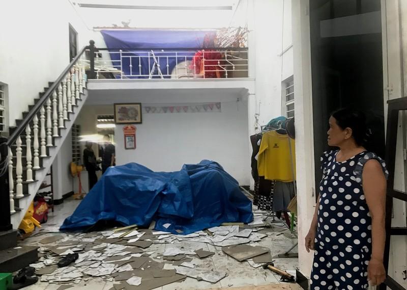 Đà Nẵng: Gió lớn khiến 2 căn nhà tốc mái - ảnh 1