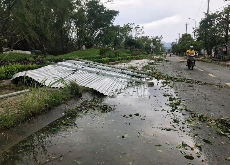 Quảng Ngãi tan hoang sau bão, hơn 38.000 nhà bị tốc mái - ảnh 5