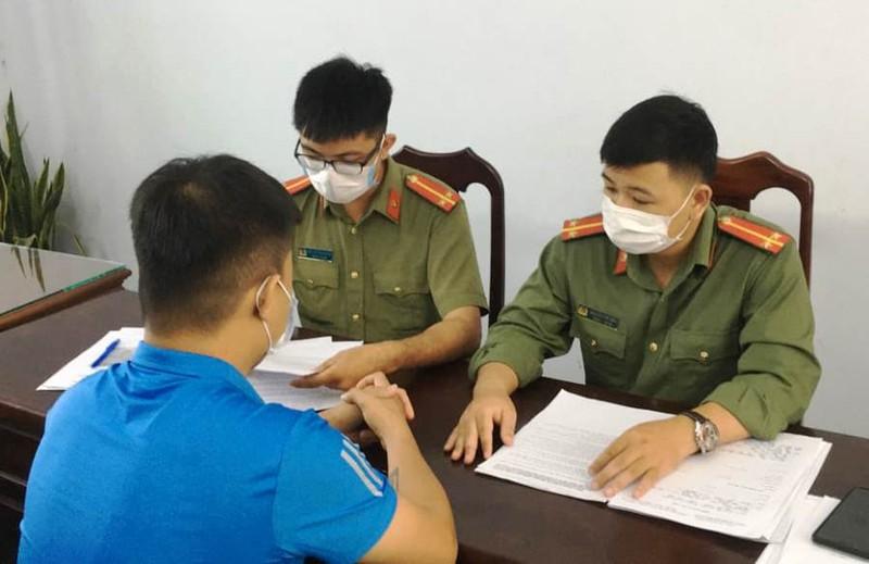 Lập biên bản người đăng tin sai về COVID ở Đà Nẵng - ảnh 1