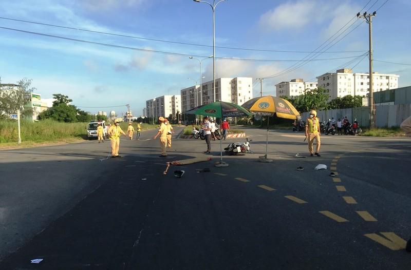 Tai nạn ở giao lộ không đèn tín hiệu, 1 người tử vong - ảnh 1