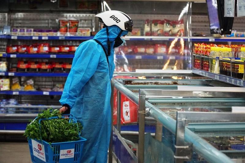 Đà Nẵng tăng shipper, nhân viên siêu thị để đảm bảo thực phẩm cho dân - ảnh 1