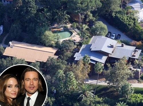 5 biệt thự xa hoa Angelina Jolie - Brad Pitt từng ở - ảnh 4