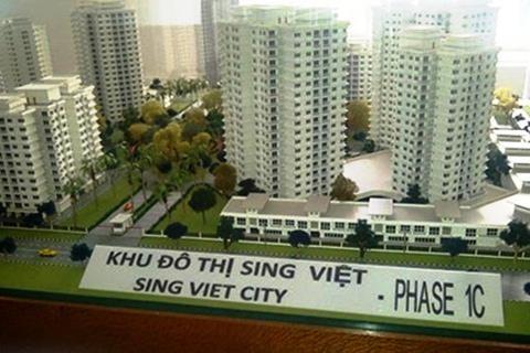 Tháng 9 bàn giao mặt bằng Khu tái định cư Sing Việt   - ảnh 1