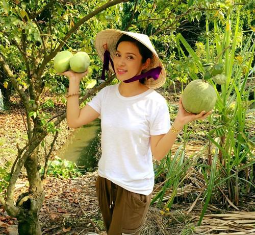 Biệt thự nhà vườn ngập hoa quả của diễn viên Việt Trinh - ảnh 4