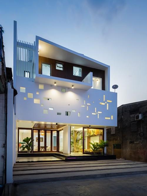 Ngôi nhà ở Đồng Nai nổi bật vì thiết kế lạ mắt - ảnh 1