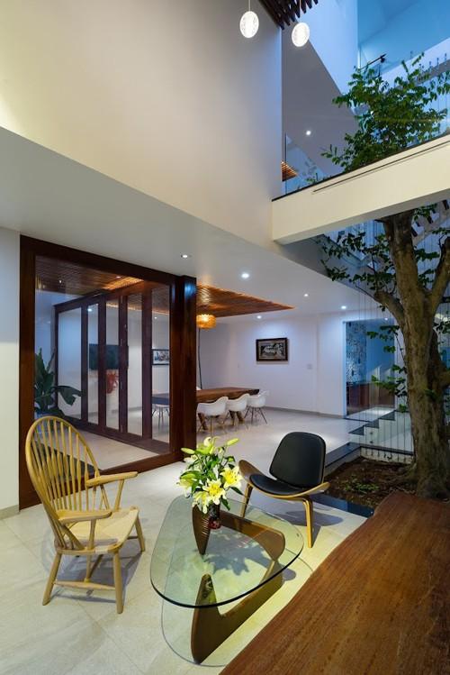 Ngôi nhà ở Đồng Nai nổi bật vì thiết kế lạ mắt - ảnh 8