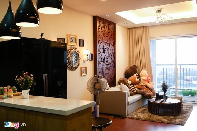 Bên trong căn hộ 3 tỉ đồng mới tậu của Hương Tràm - ảnh 1